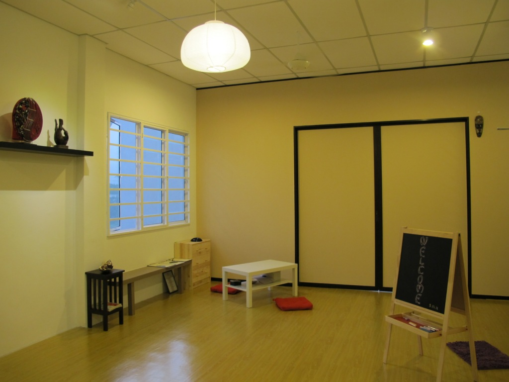 Inside Qi Yoga studio
