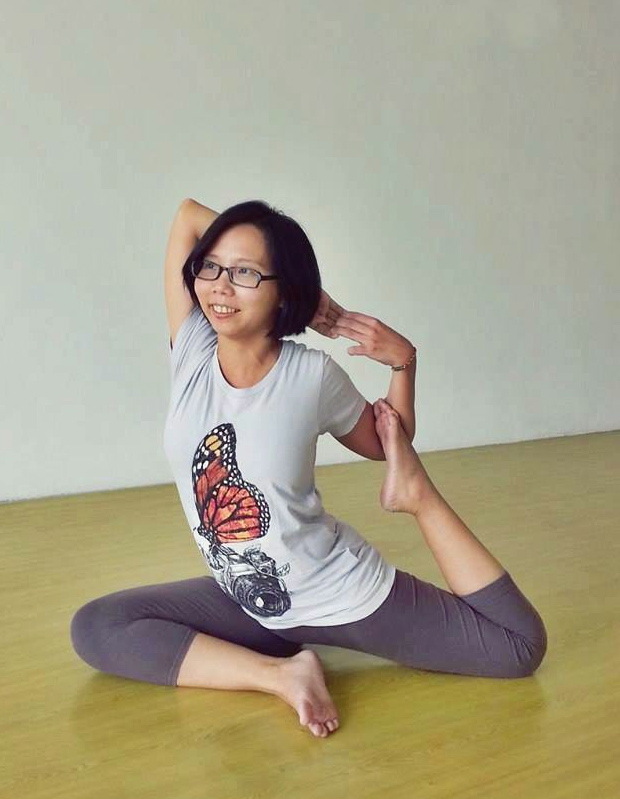 Qi yoga studio bukit mertajam penang new yoga teacher elaine ng