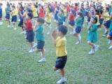 yoga kids - concentrate!